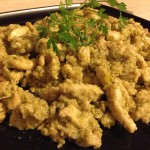 Listine di pollo all'agro di limone e capperi 1