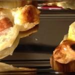 Caramelle di sfoglia con wurstel o oliva piccante
