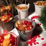 Cestini di macedonia di frutta