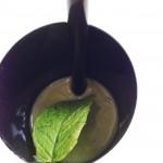 Emulsione di piselli al gusto di menta