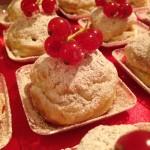 Mini strudel di mele con ribes