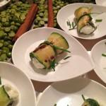 Rotolino di zucchine al caprino ed erba cipollina